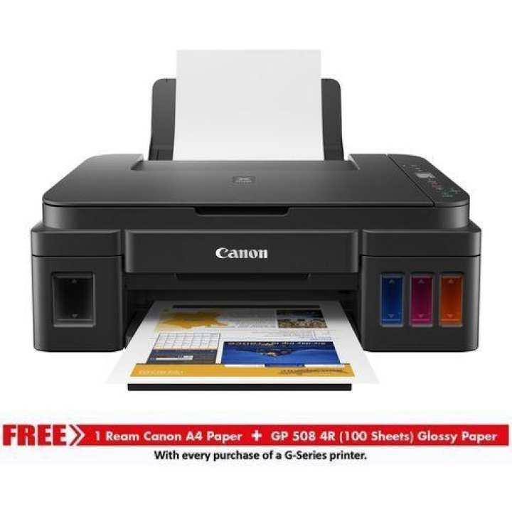 Pixma G-2010 All In One Inkjet Printer - Black