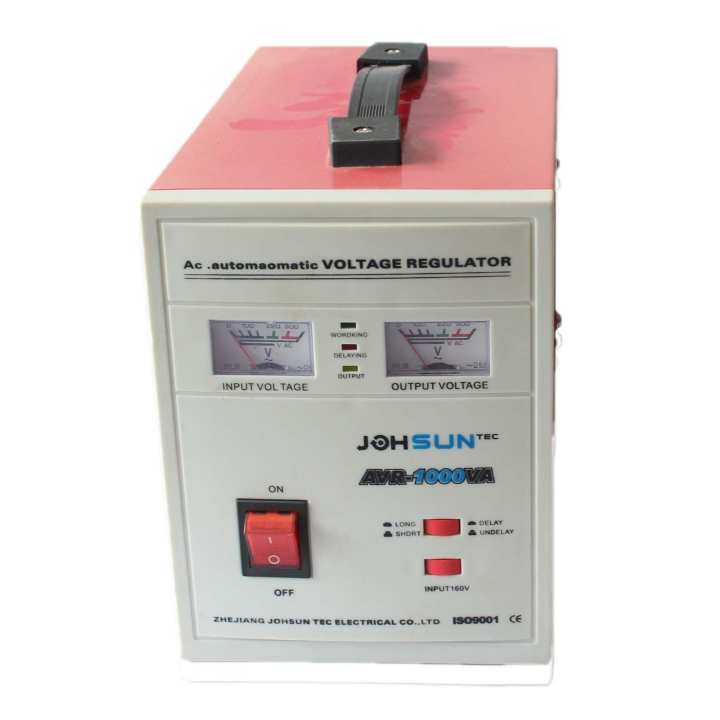 Johsun Automatic Voltage Regulator - (Red/White)