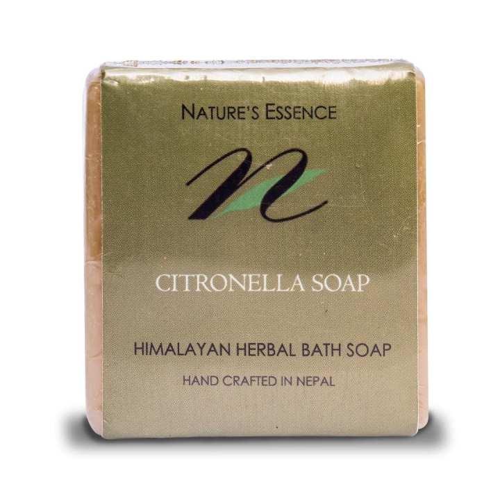 Nature's Essence Citronella Herbal Soap - 80 gm