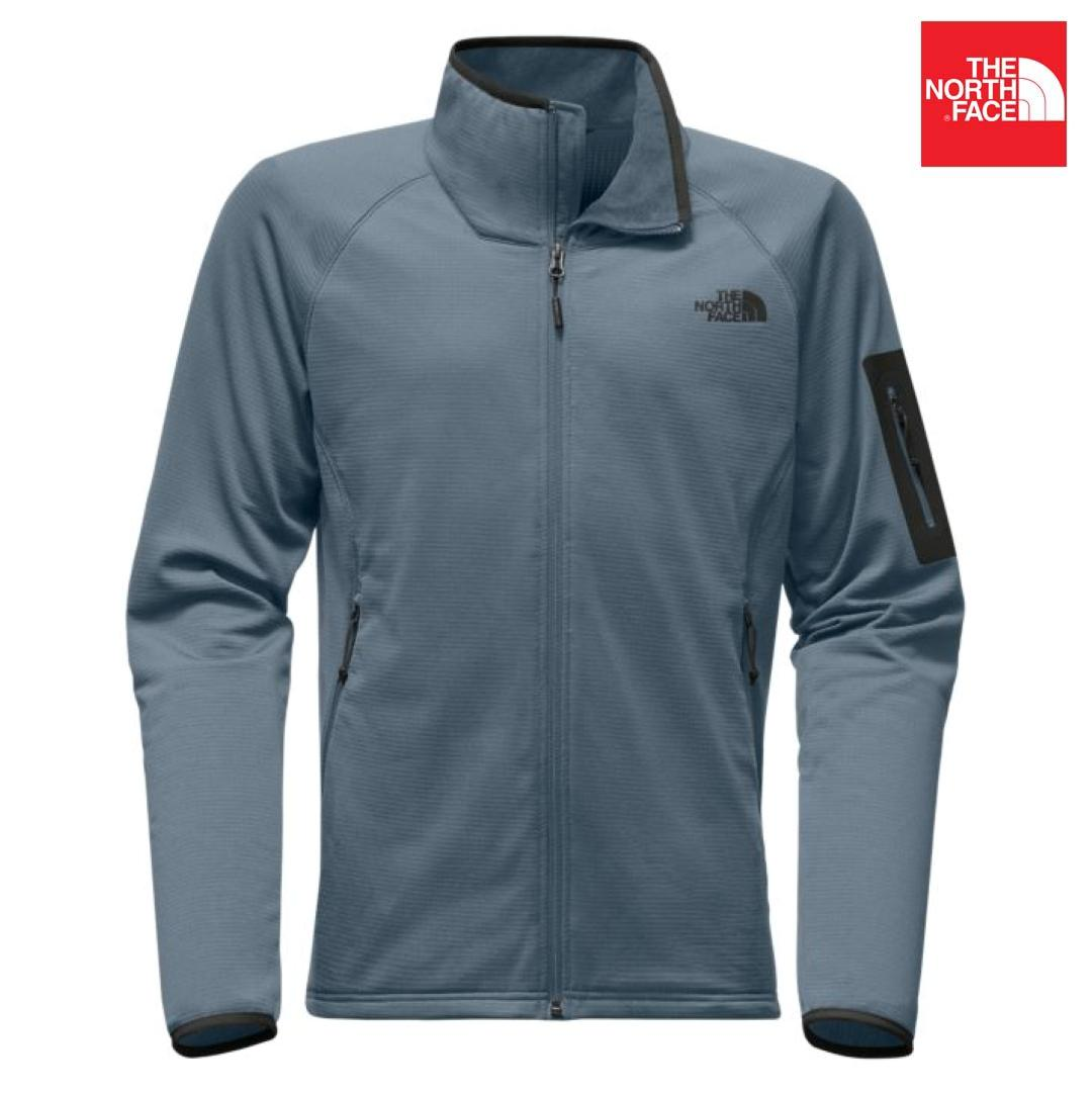 The North Face A2VE1 Borod Full Zip Jacket For Men- Conquer Blue