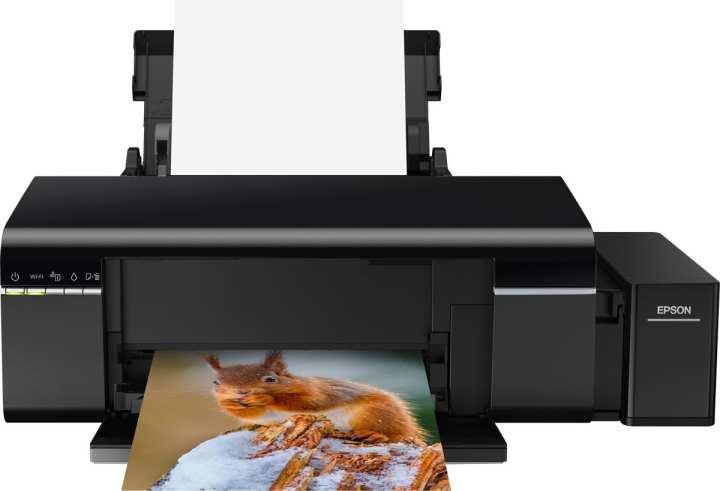 Epson L805 Single Function Inkjet Printer - Black