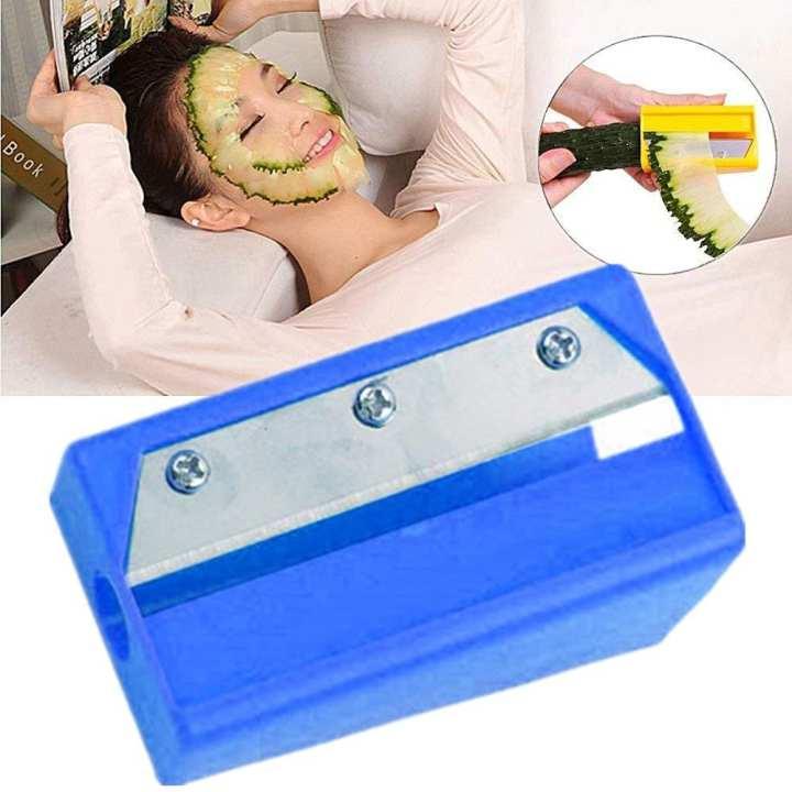 Newlifestyle Blue Cucumber Make Up Mask Slicer Beauty Device