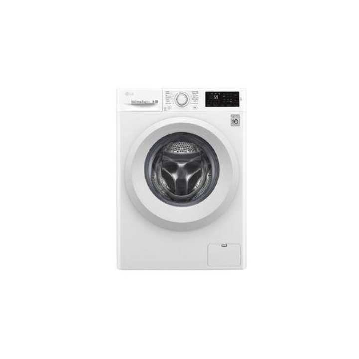 LG FC1207N5W 7.0 Kg 6 Motion Drive Front Loading Washing Machine  - White
