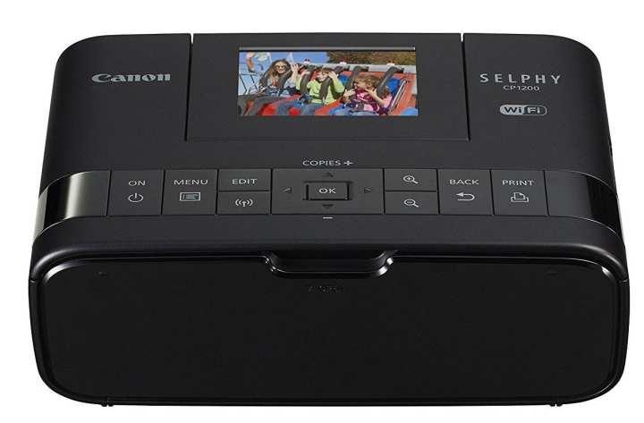 Canon SELPHY CP1200 Wireless Compact Photo Printer (Black)