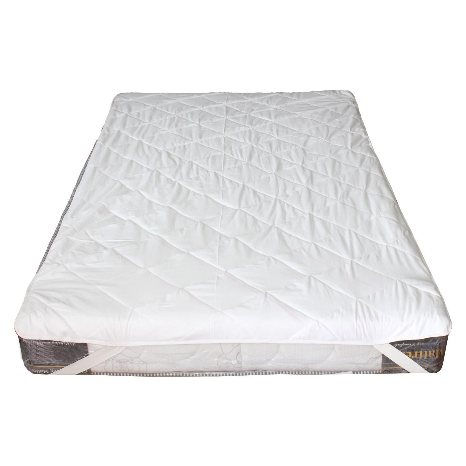 info for 6a3d2 7ef4e White Waterproof Mattress Protector - Double Bed