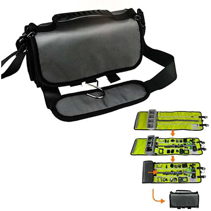 Travel Roll-Out Bag Camera Smart Shoulder Bagpacks For GoPro
