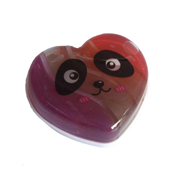 Brown/Pink Panda Slime For Kids