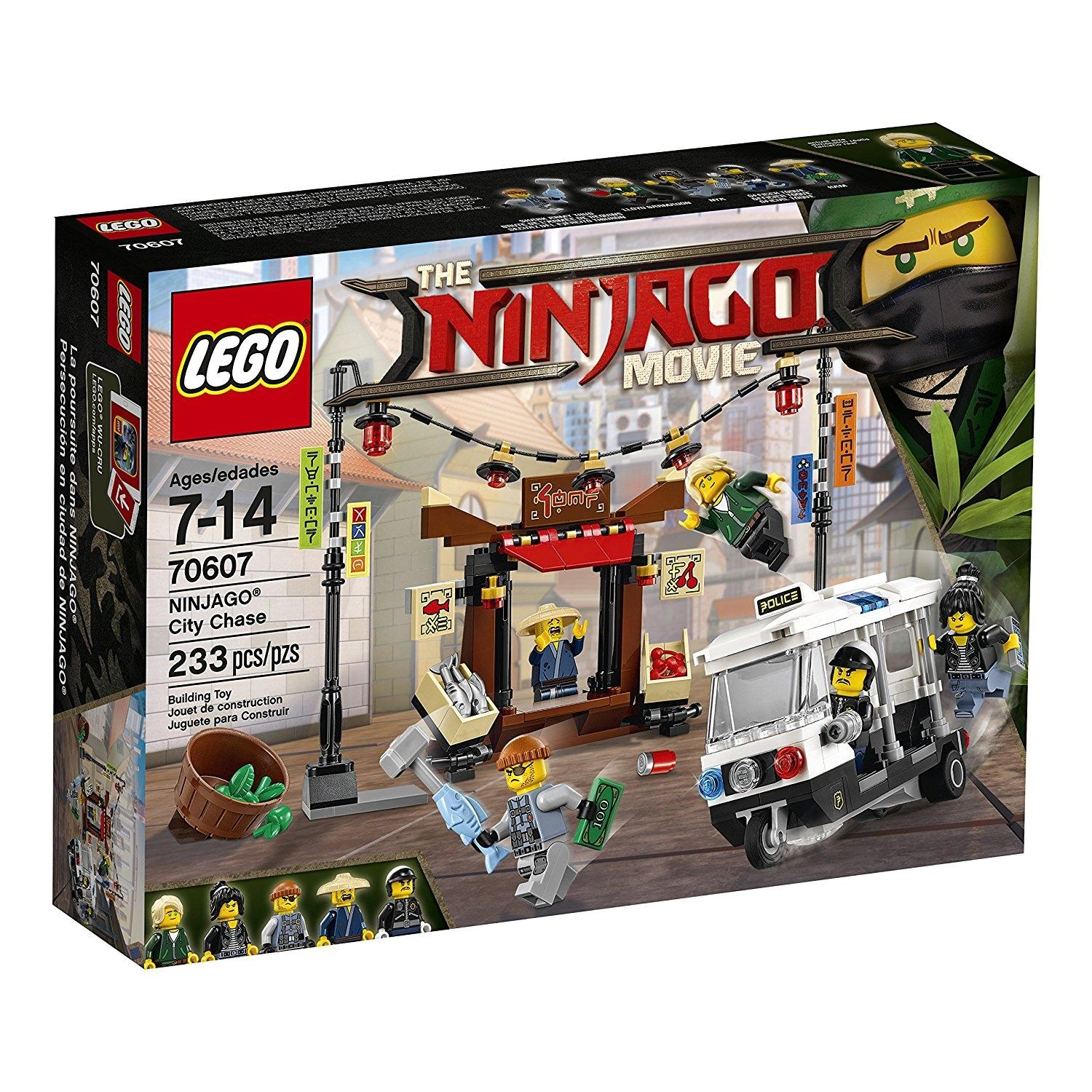 LEGO Ninjago Movie City Chase Building Kit