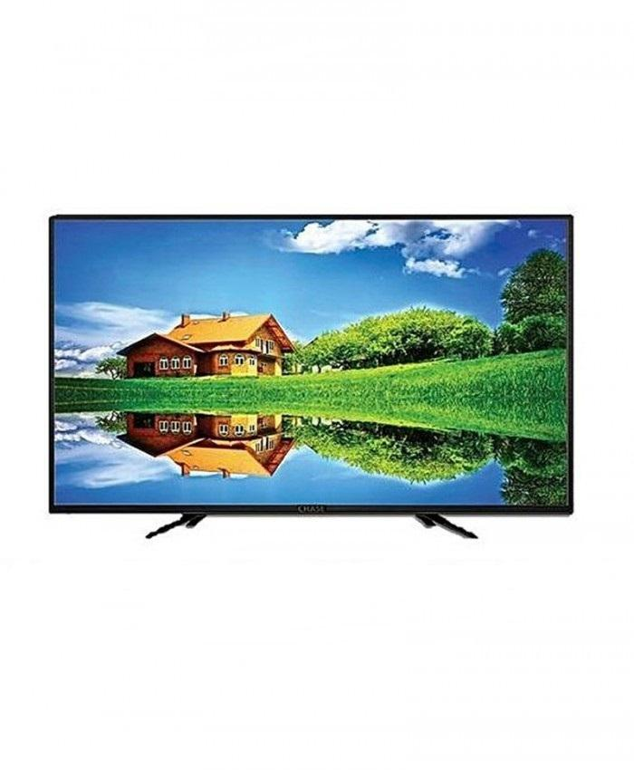 "Chase GC43LAAPS 43"" Full HD Smart LED TV - Black"