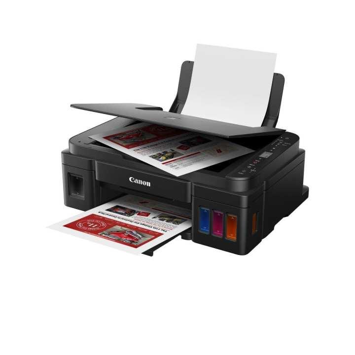 Canon PIXMA G3010 All in One Inkjet Printer - (Black)