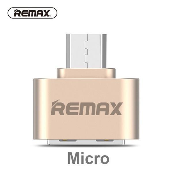 85bb89178 REMAX Micro USB OTG Adapter Female USB 2.0 To Micro USB Male Data Adapter