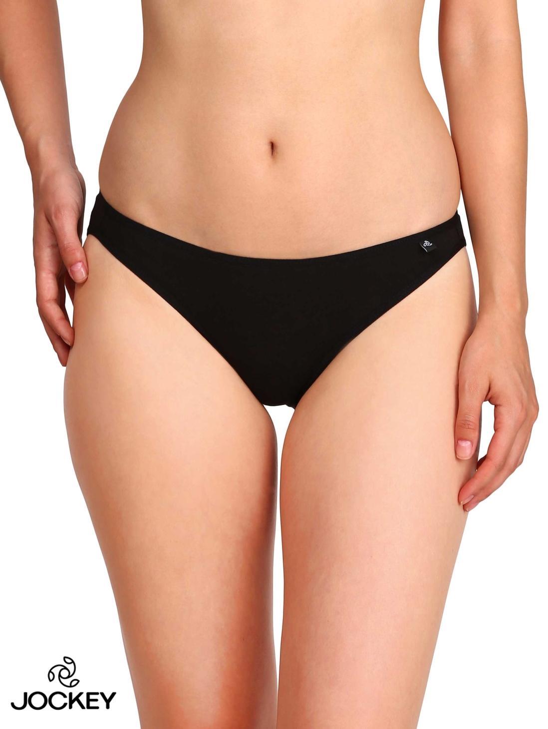 78b7990c35369 Jockey Black Fashion Essentials Bikini Brief For Women - SS02