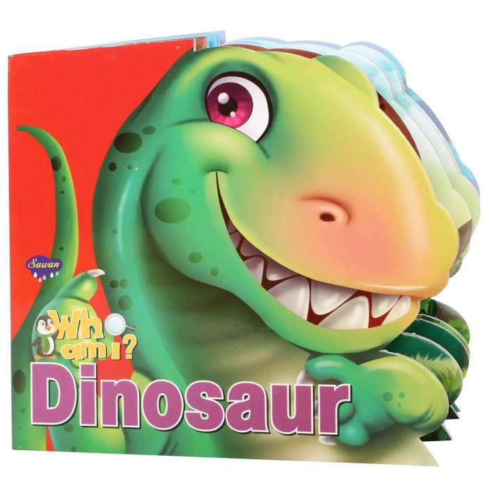 Who Am I?? Book About Dinosaurs For Kids