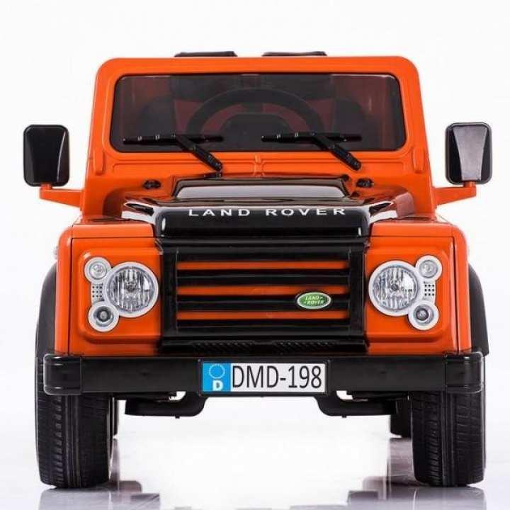 DMD-198 Mini Toy Land Rover Kids Ride On Jeep - (Orange)