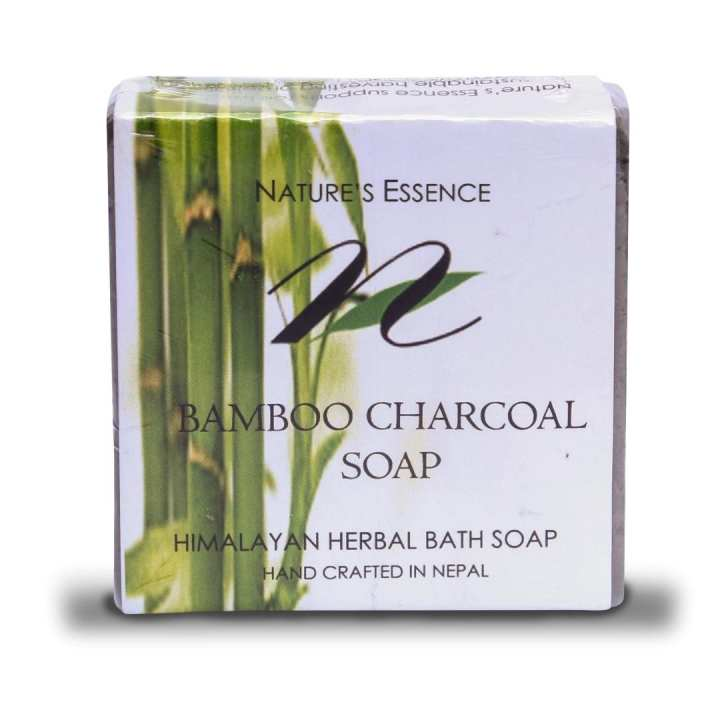 Nature's Essence Bamboo Charcoal Soap 80gm