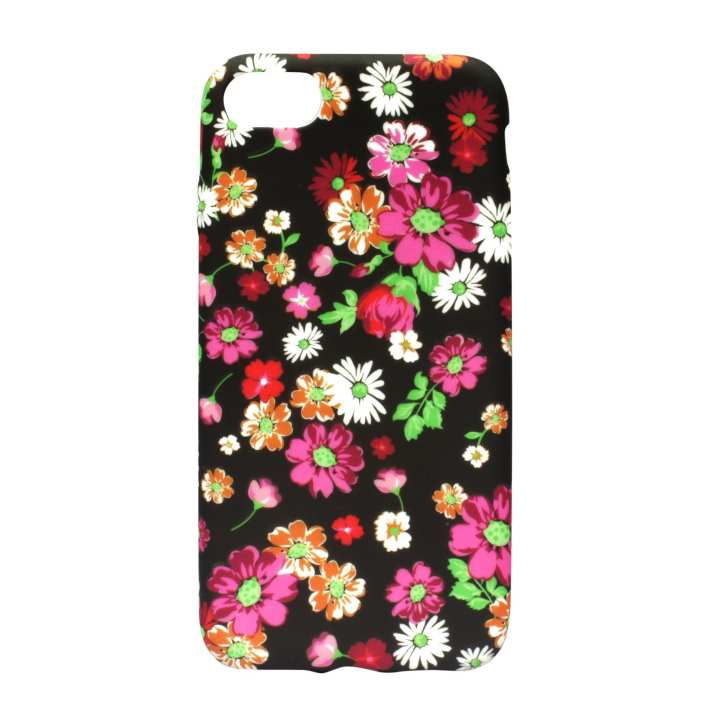 Floral Printed Mobile Cover For Iphone 8 Plus- (Multicolor)