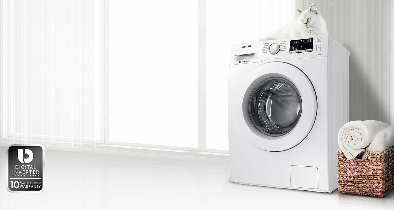 Samsung Washing Machine with Digital Inverter Technology