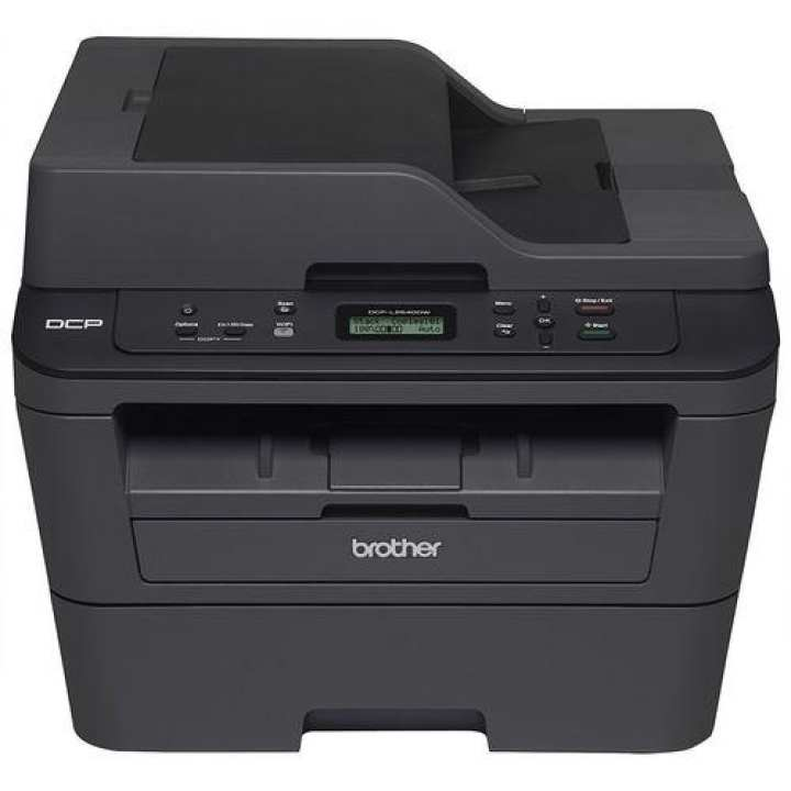 Brother L2540 DW All In One Monochrome Laser Printer - (Black)