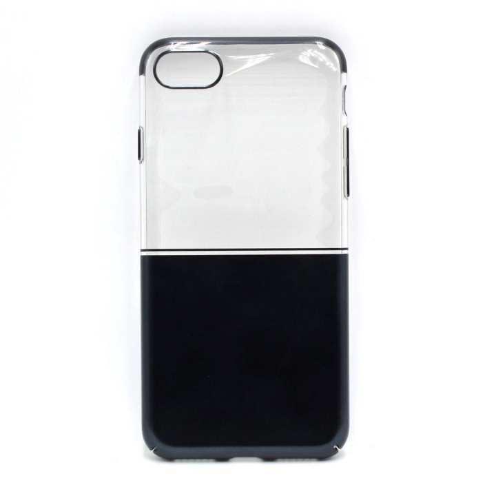 Black Transparent Mobile Case For Iphone 7/8