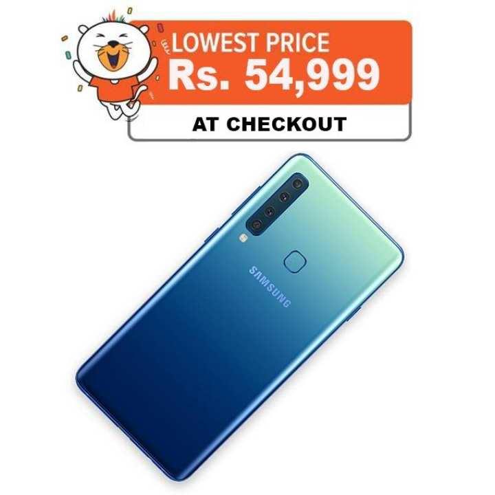 Samsung Galaxy A9 (2018) [ 6 GB RAM, 128 GB ROM ] 6.3 Inch Screen - (Black / Blue)