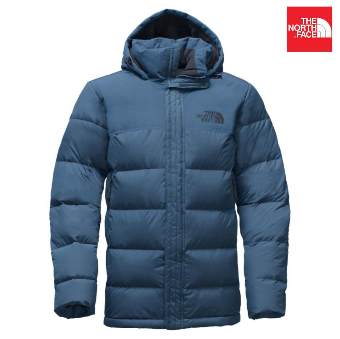 9eac5c00498 The North Face A2TBS Nuptse Ridge Parka Down Jacket For Men- Shady Blue