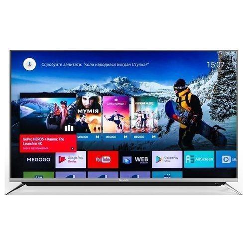 55G6 55 4K Ultra HD Android Smart LED TV - (Black)