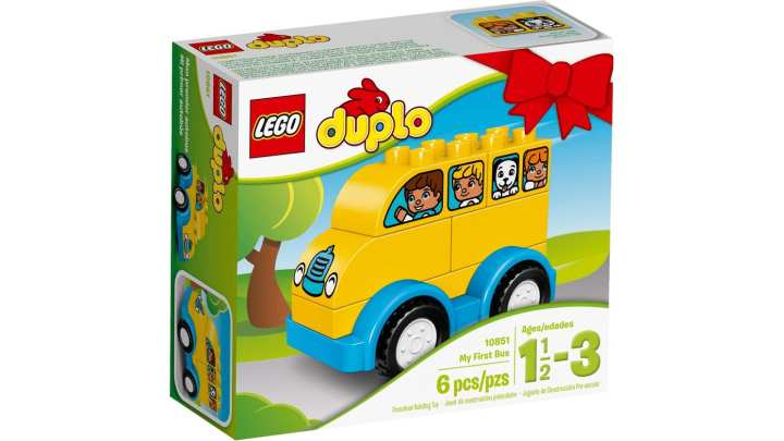 LEGO My First Bus Toy- 10851