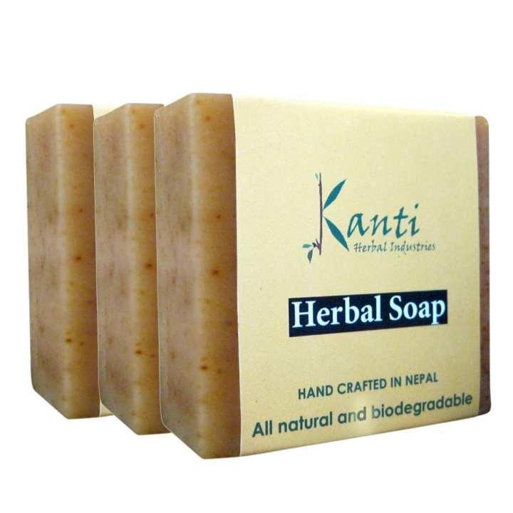 Kanti Herbal Pack Of 3 Kanti Herbal Soap – 80g