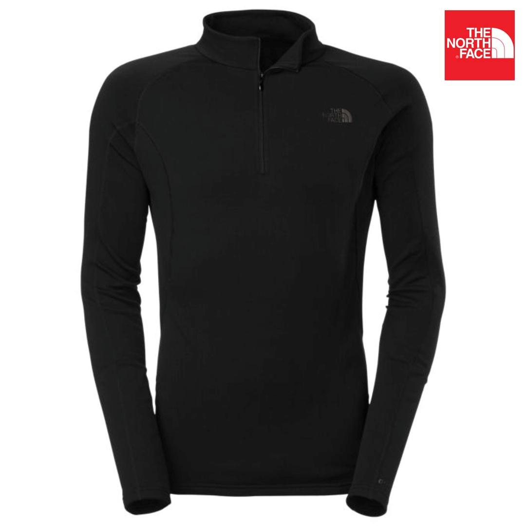 The North Face CK16 Expedition Long Sleeves Zip Neck Jacket For Men- Black