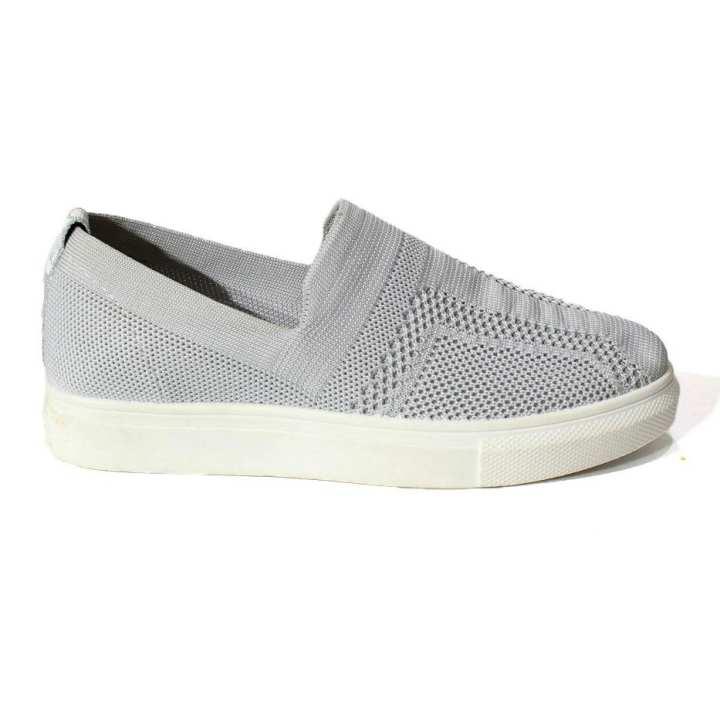 Grey Slip On Vans For Women