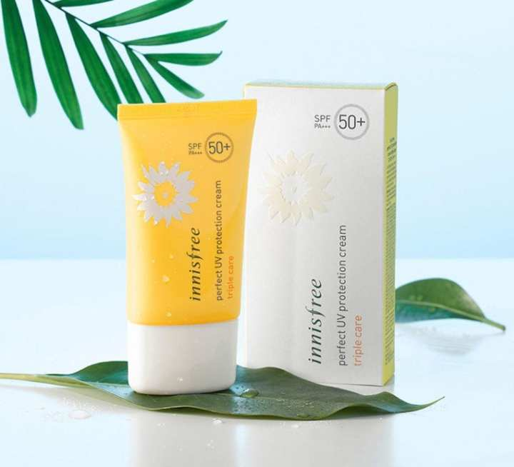 Innisfree Perfect UV Protection Cream Triple Care SPF50+ PA+++ - 50ml