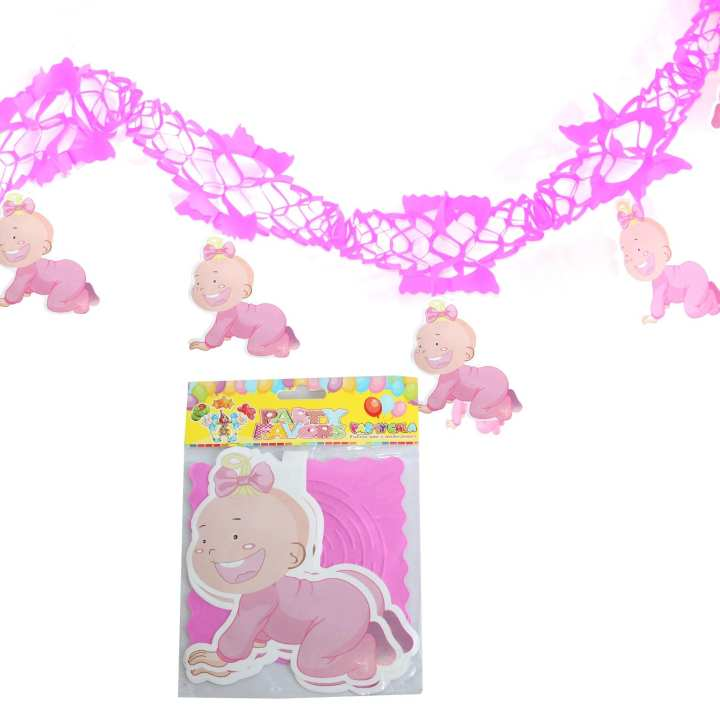 Pink Baby Shower Party Decoration