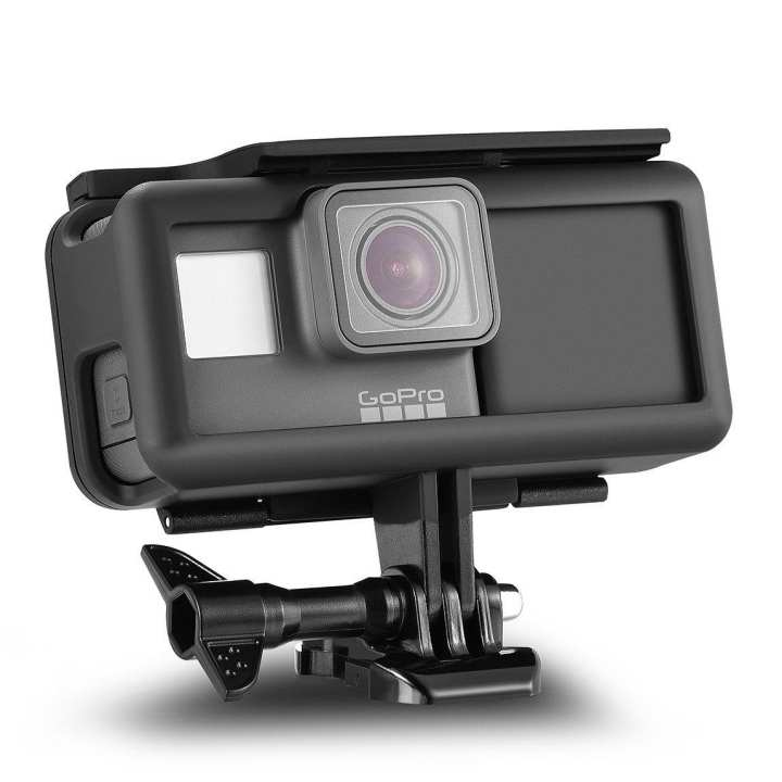 Extra Battery Shockproof Protective Frame For GoPro 6, 5