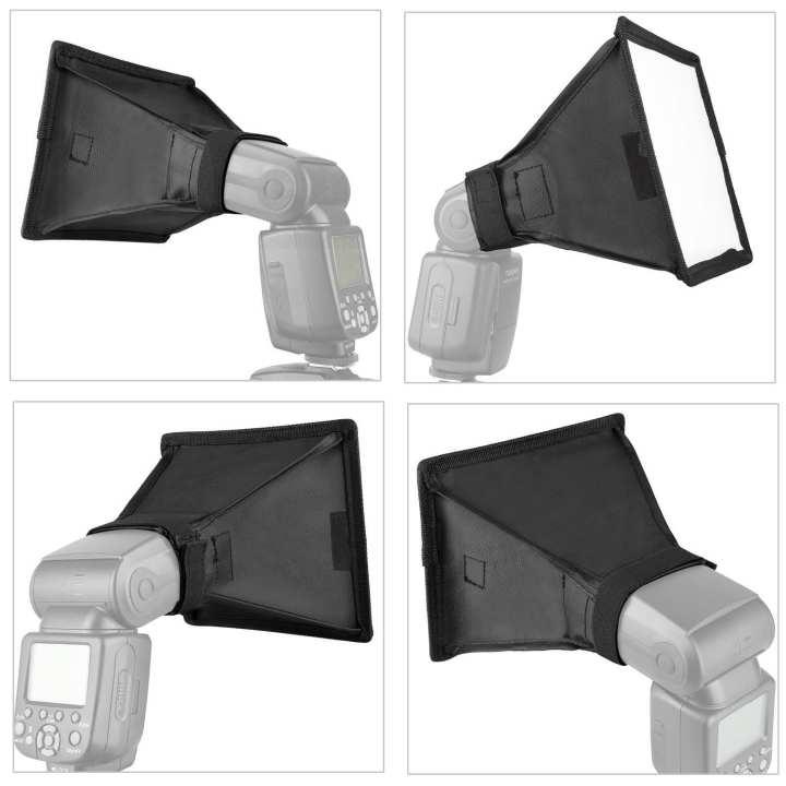 Flash Softbox Light Diffuser Speedlite Translucent Soft Box For DSLR Camera Big