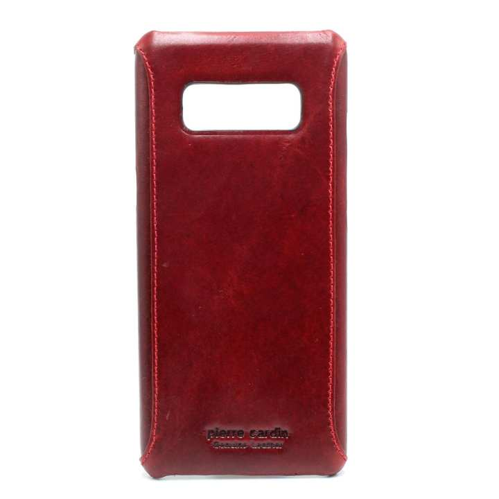 Reddish Brown Leather Mobile Case For Samsung Note 8