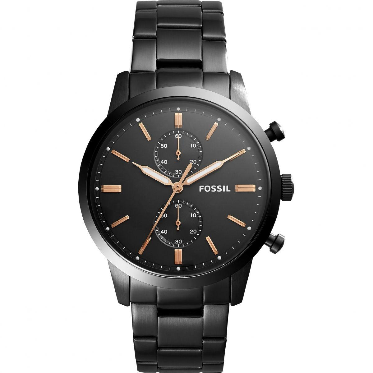 Fossil Watch Buy At Best Price In Nepal Daraz Es3707 Jacqueline Gray Leather Rose Gold Townsman Black Dial Chronograph For Men Fs5379