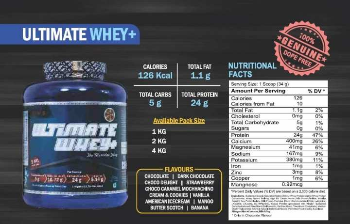 SAM Prolife Nutrition Ultimate Whey