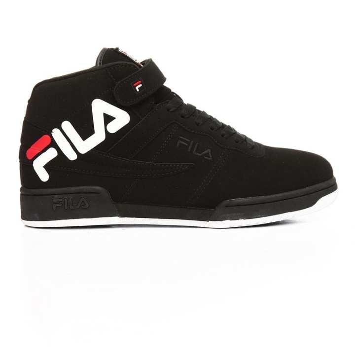 Fila Black F-13 Logo Sneakers For Men - 1FM00076-014