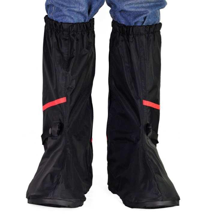 Black Rain Shoe Cover [L]- H-601
