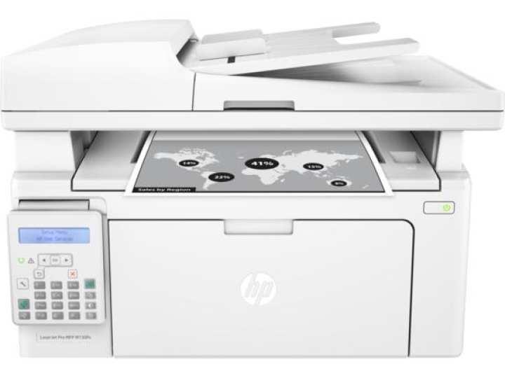 HP Pro MFP-M130FN Laser Jet Pro Multifuction Printer - (White)