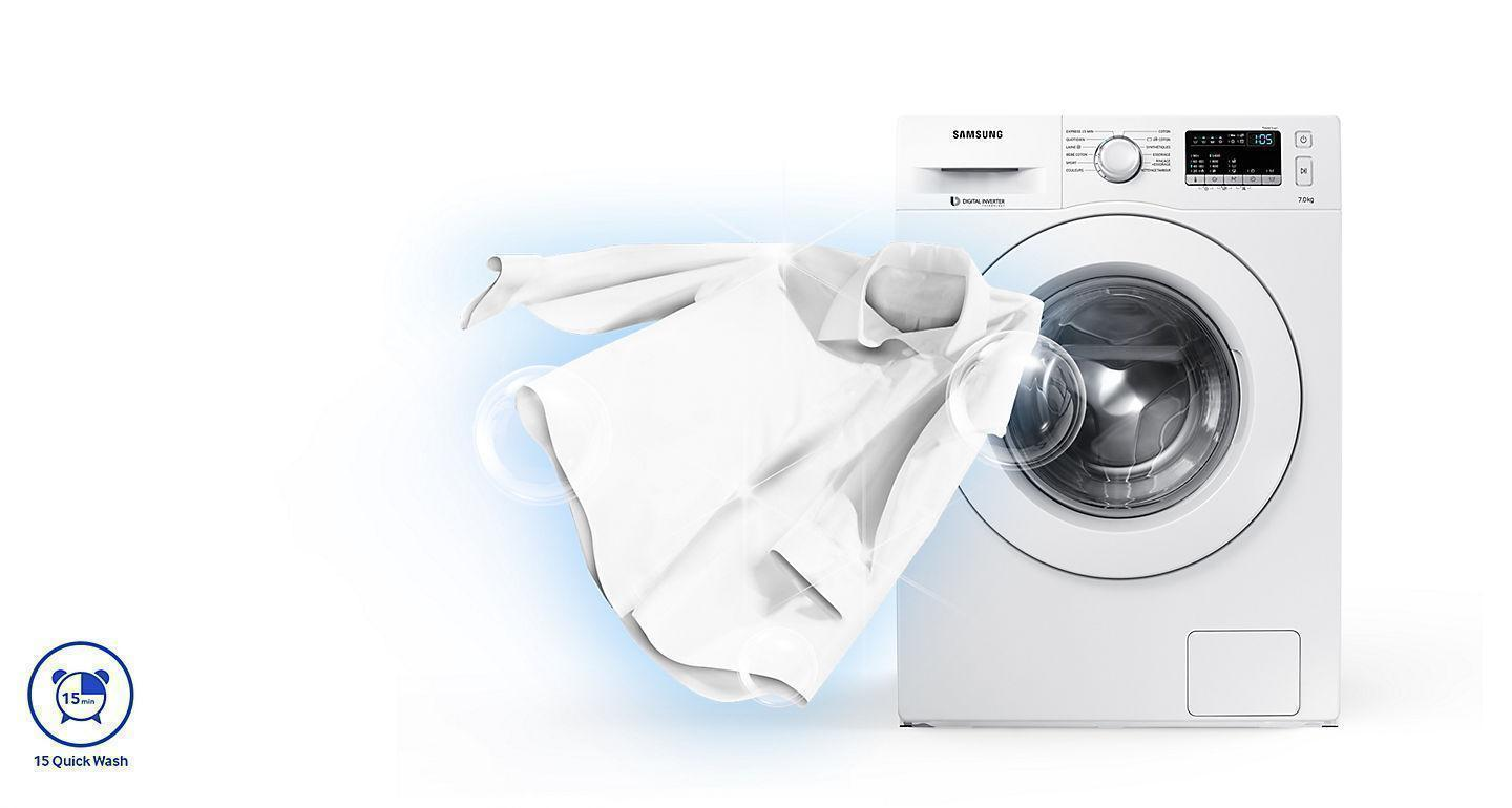 Samsung Fully Automatic Washing Machine with Quick Wash programme
