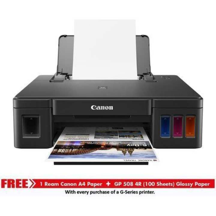 Pixma G-1010 Single Function Refillable Ink Tank Inkjet Printer - Black