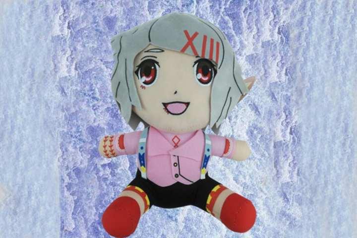 Multicolored Tokyo Ghoul Juzo Suzuya Poly Plush Doll For Kids- 35cm