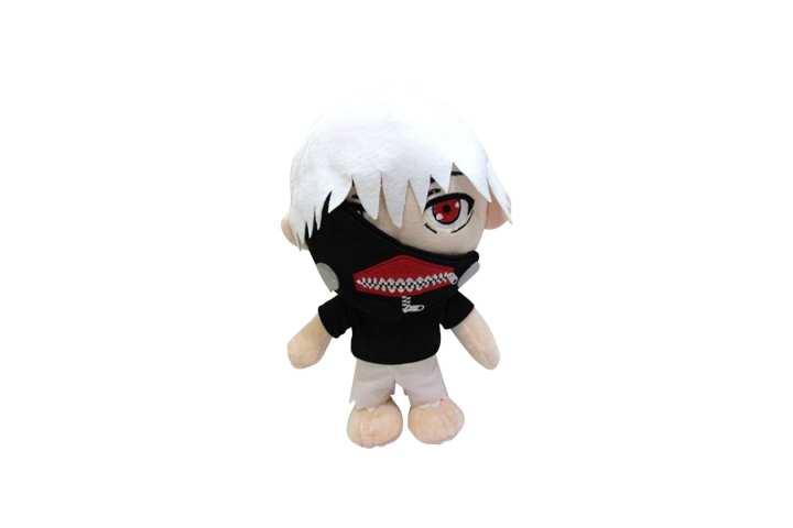 Black/White Tokyo Ghoul Kaneki Ken Plush Toy For Kids- 33cm