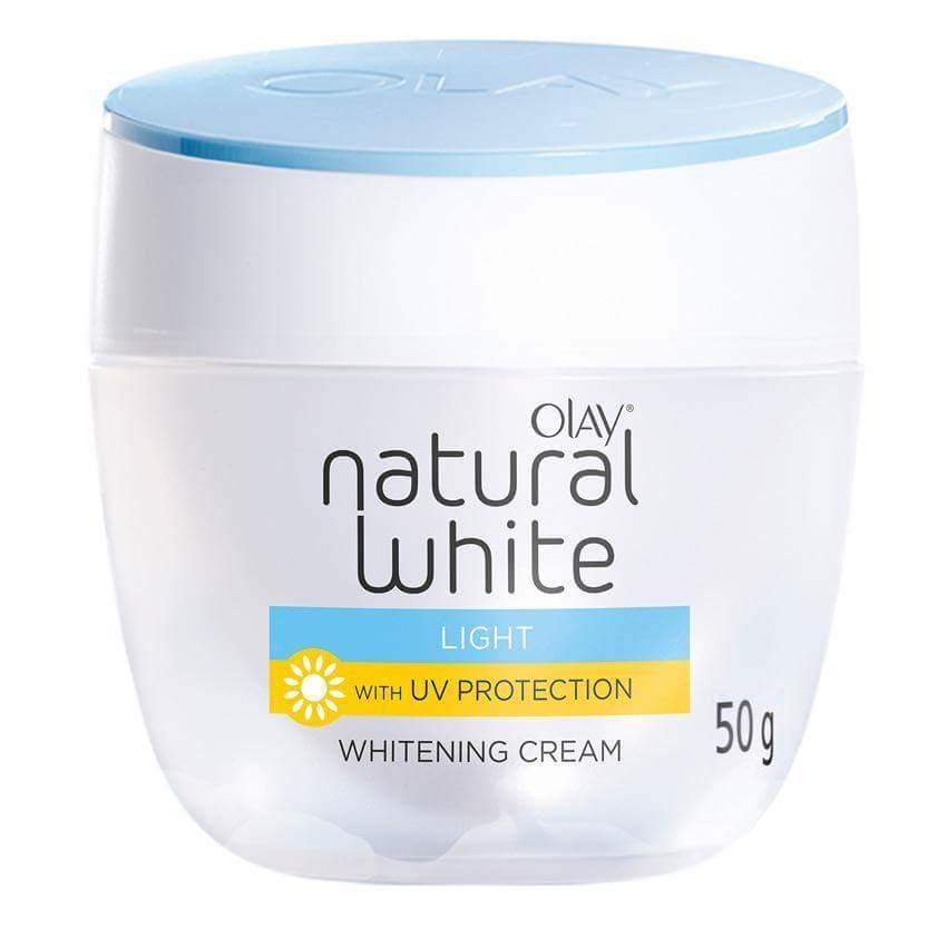 Olay Natural White Light With UV Protection Whitening Day Cream- 50gm