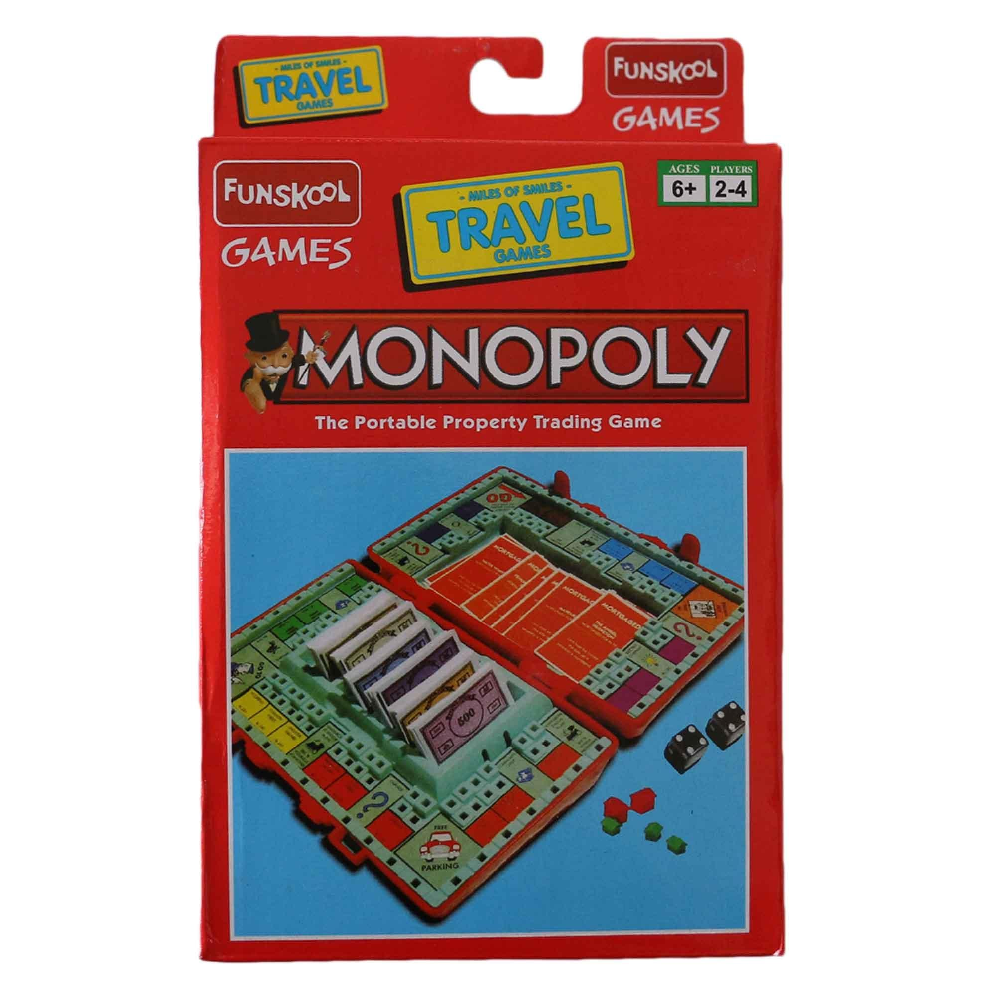 Board Games Buy At Best Price In Nepal Circuit Funskool Monopoly The Portable Trading Game Multicolored