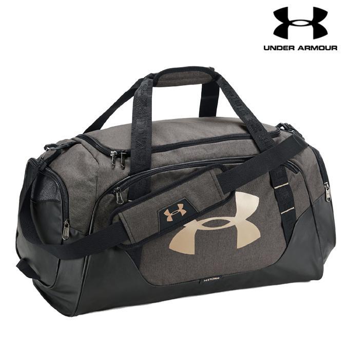 Under Armour Black Undeniable 3.0 Medium Duffle Bag For Men - 1300213-002 18dc4f1cfe8d1