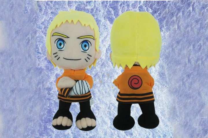 Yellow/Orange Naruto Uzumaki Naruto Poly Plush Doll For Kids- 30cm