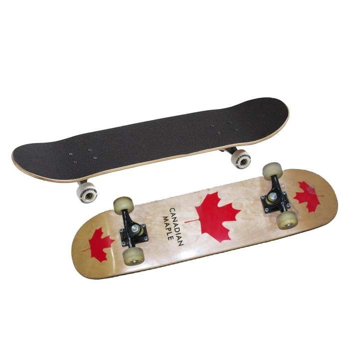 Black/Brown Skateboard For Kids