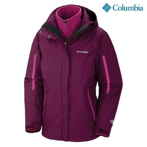 Columbia 1561021520 Bugaboo Interchange Jacket For Women - Rosewood Pink e8b68b88ac95